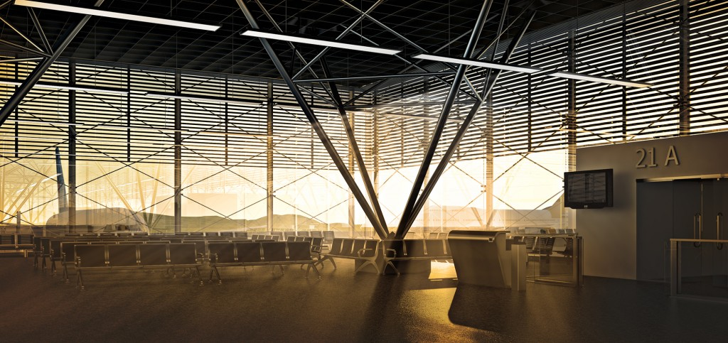 architectural visualisation london terminal c